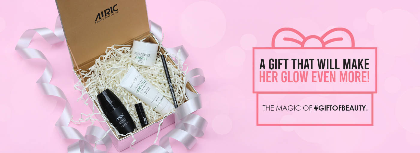 auric beauty gift pack