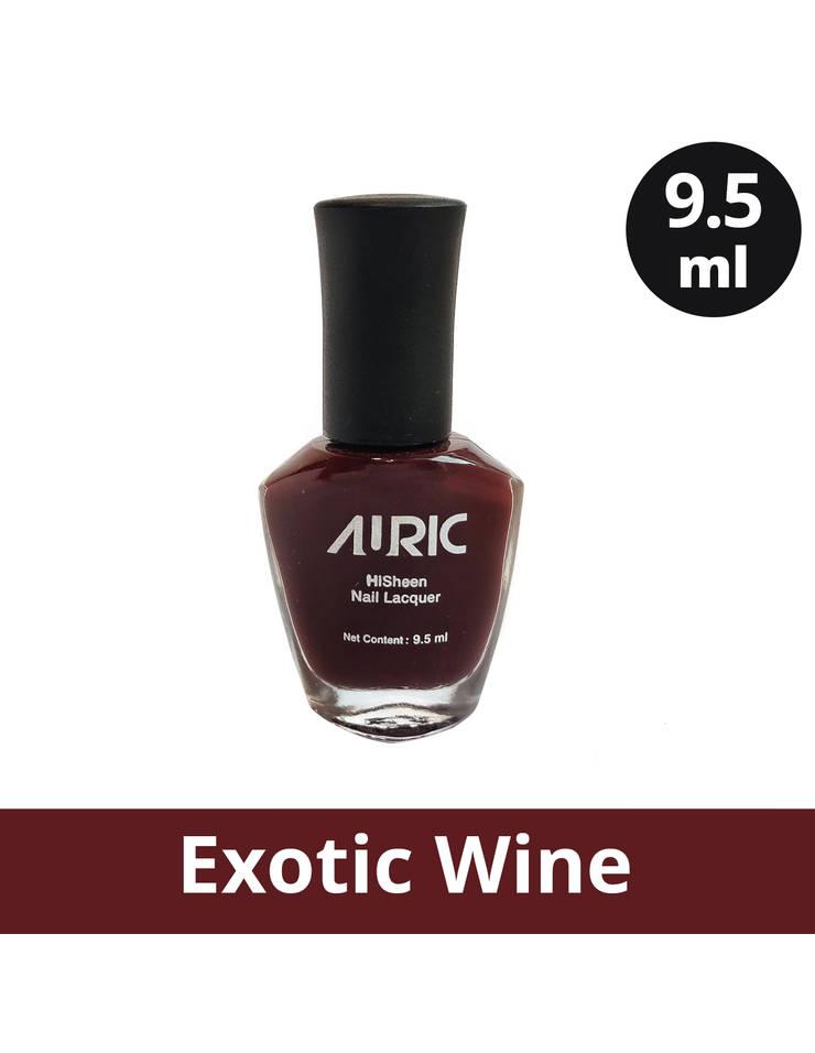 Auric Nail Polish HiSheen, Exotic Wine