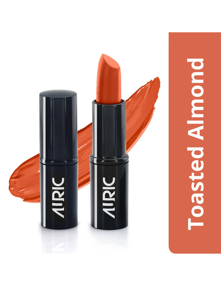 Auric MoistureLock Lipstick, Toasted Almond