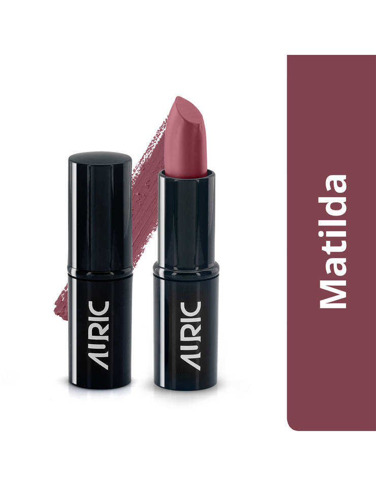 Auric MatteCreme Lipstick, Matilda