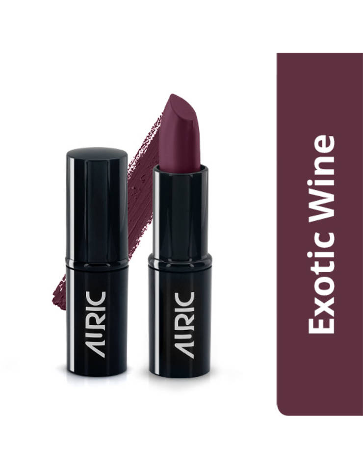 Auric MatteCreme Lipstick, Exotic Wine