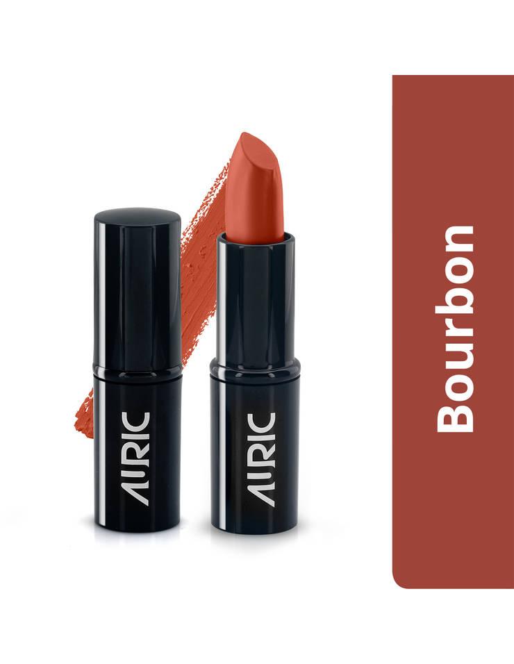 Auric MatteCreme Lipstick, Bourbon