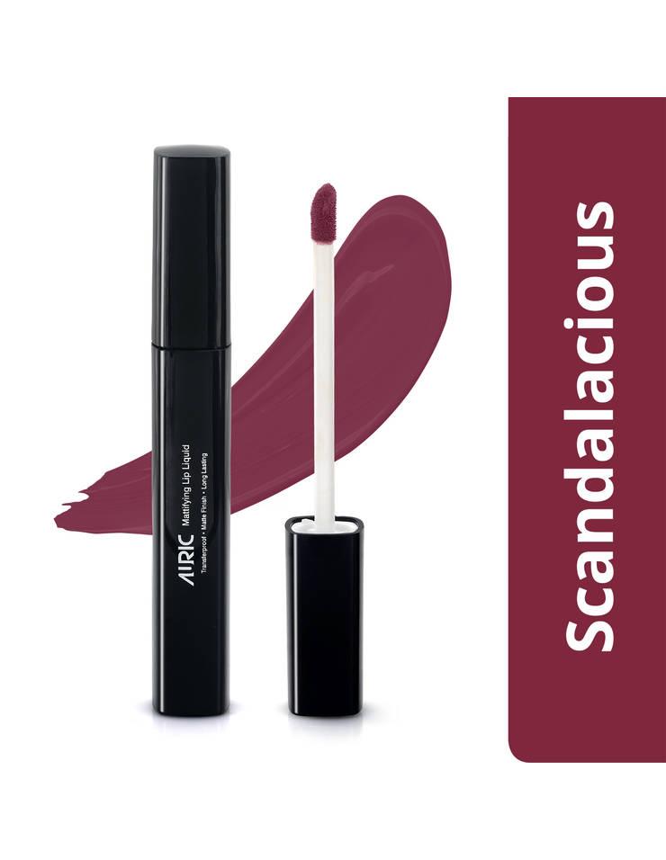 Auric Mattifying Lip Liquid, Scandalacious