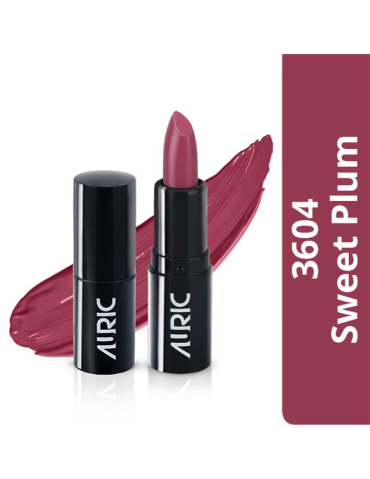 Auric Mini MoistureLock Lipstick, Sweet Plum, 1.5 g