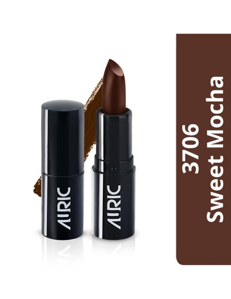 Auric Mini MatteCreme Lipstick, Sweet Mocha, 1.5 g