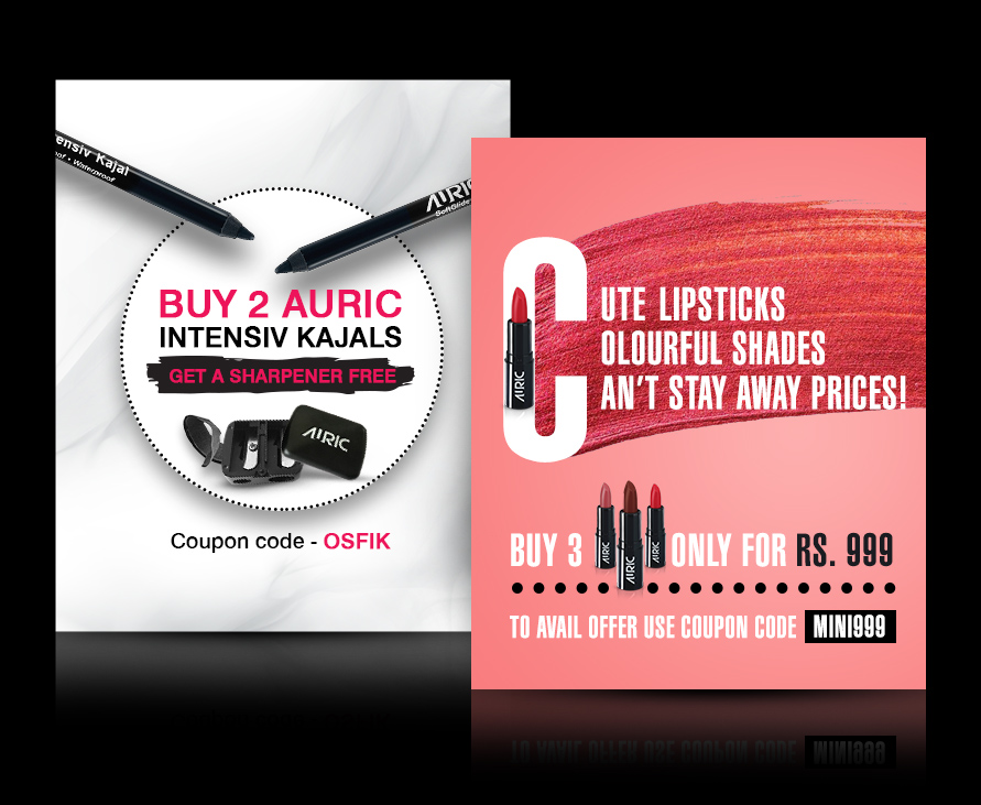 Auric Beauty beauty collection of all products