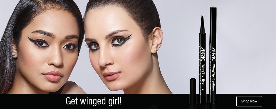 Wingtiped eyeliner banner image